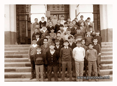 1º de bachillerato con 10 años. Curso 1968-1969