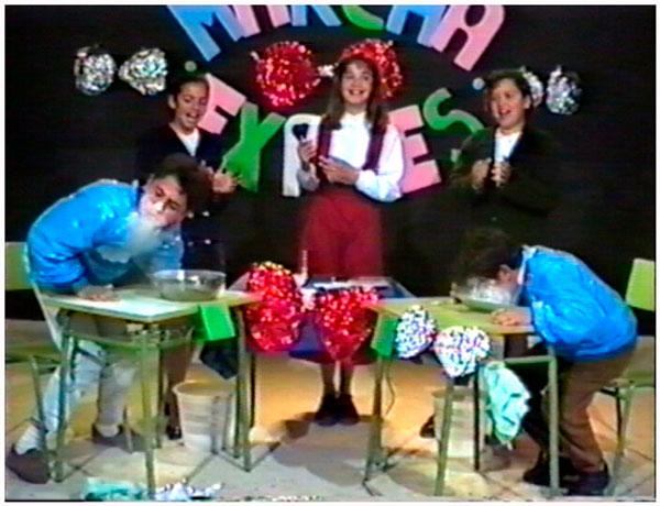 Marcha Expres uno de los concursos de TELEPUEBLA-1991