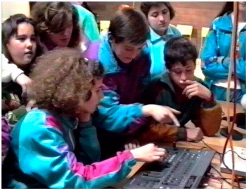 mesa de mezclas de TELEPUEBLA-1992