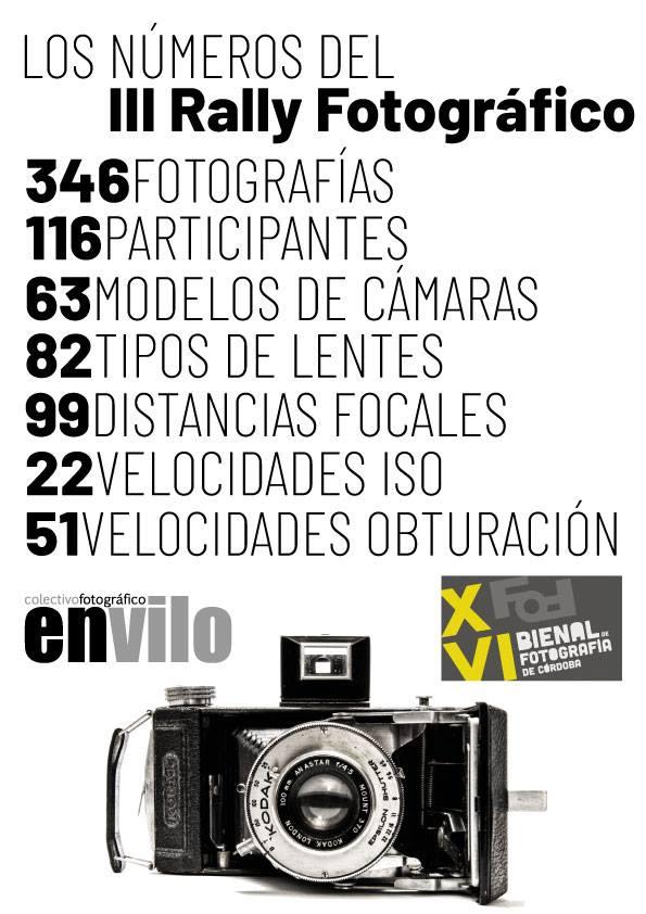 Numeros Rally Fotográfico Bienal 2019